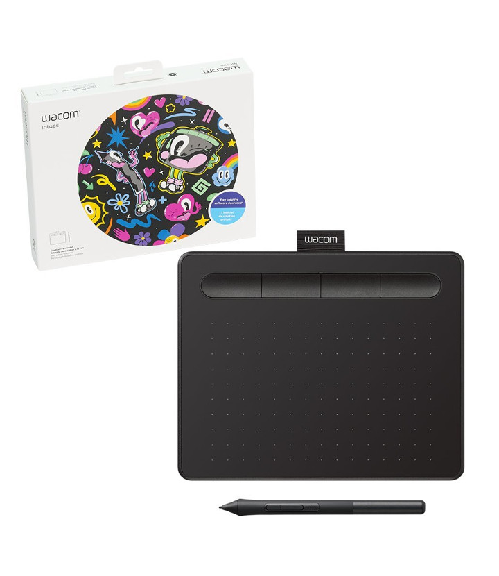 Tableta de Dibujo Wacom Intuos Small BlackTableta de Dibujo Wacom Intuos Small Black